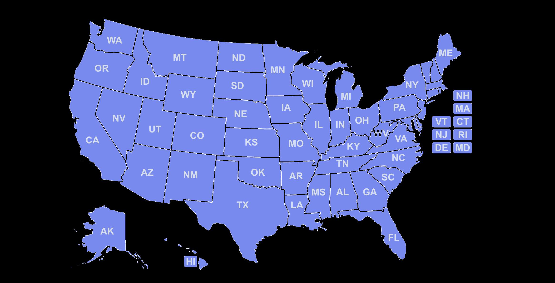 handbook law map